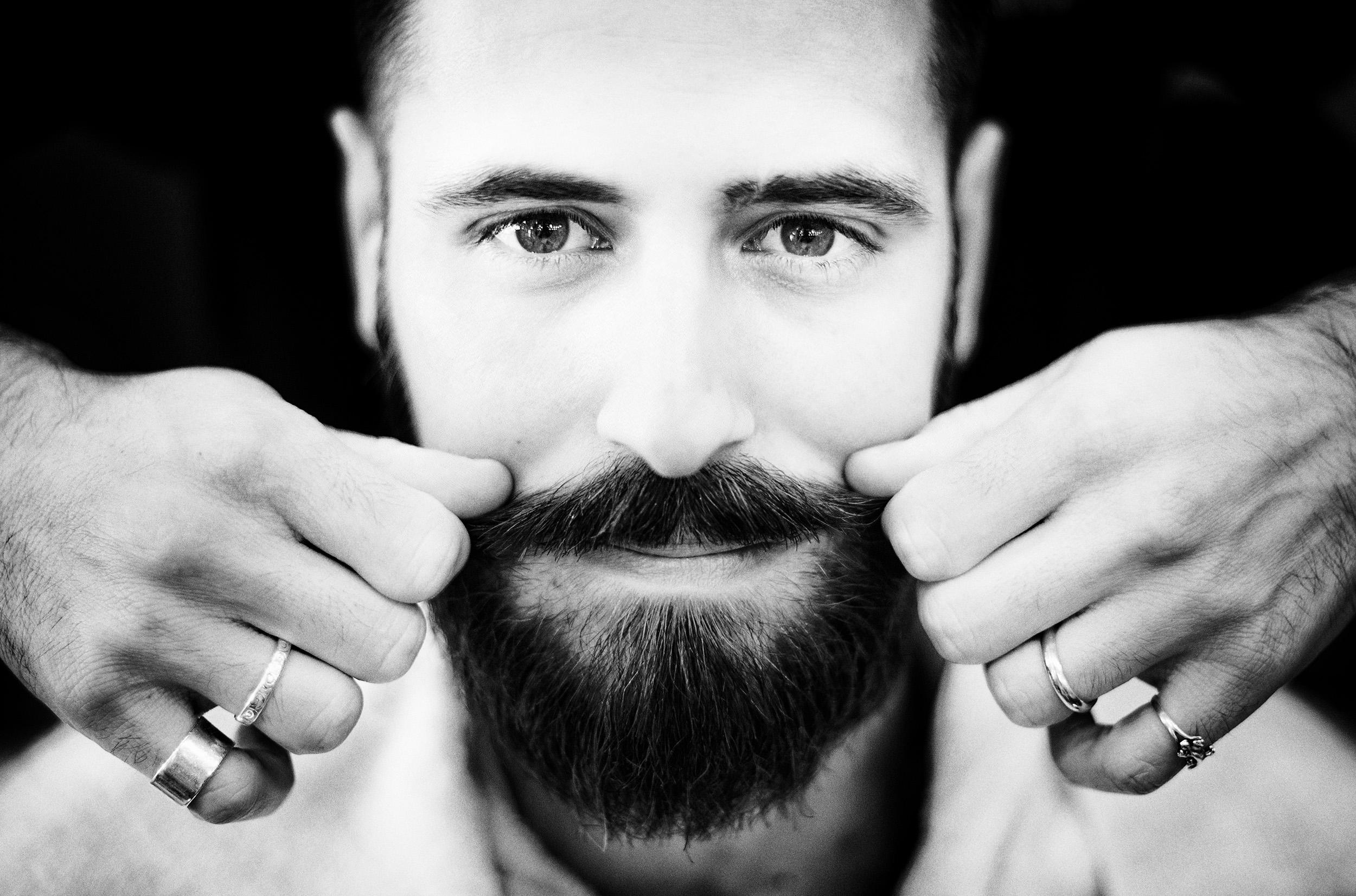 Marco's mustache